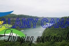 Niagara Canyon River Wall
